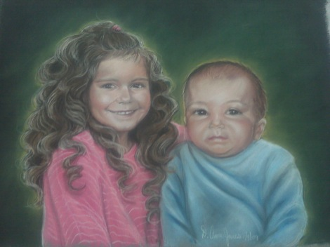 Pastel Portrait by Anne Jones